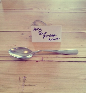 Christmas Lunch Spoon